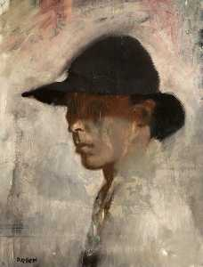William Newenham Montague Orpen - autoretrato