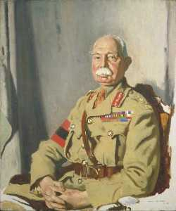 William Newenham Montague Orpen - Geral sir herbert charles onslow plumer ( 1857–1932 ) , GCMG , GCVO , KCB , Segundo Exército