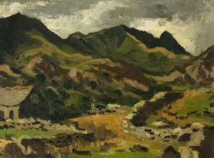 John Kyffin Williams - cwm pennant