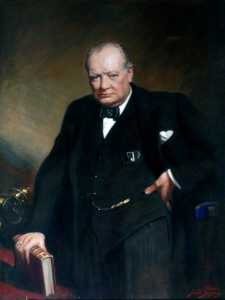 Frank O Salisbury - sir winston churchill ( 1874–1965 )