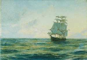 Thomas Jacques Somerscales - HMS -Clio-