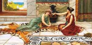 John William Godward - junta ossos