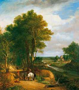 Frederick Waters (William) Watts - paisagem