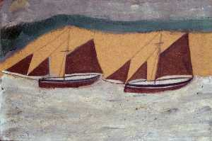Alfred Wallis - dois barcos