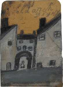 Alfred Wallis - old arch digey , st ives