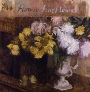 Lawrence Gowing - natureza flores