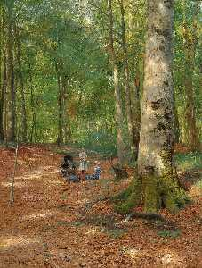 Peder Mork Monsted - o FLORESTA  Clareira