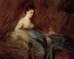 Joshua Reynolds - A actriz Kitty Fisher