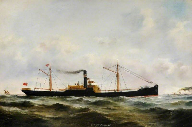 SS 'Weltondale' ( Justo Clima ) por Ruben Chappell | WahooArt.com