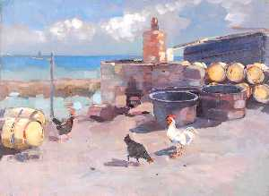William Henry Charlton - harbour com frangos