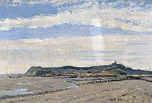 George Graham - Fairlight Colinas a partir de Winchelsea Praia , Leste Sussex