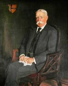 Louis Ginnett - sir william h . B . Ffolhas , Bt ( 1847–1912 ) ( depois de oswald hornby joseph birley )