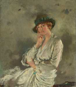 William Newenham Montague Orpen - sra. charles s carstairs