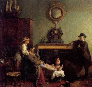 William Newenham Montague Orpen - uma mero  fratura