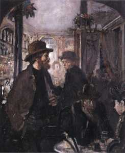 William Newenham Montague Orpen - Em The Pub