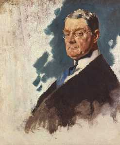 William Newenham Montague Orpen - John Andrew Hamilton Visconde Sumner