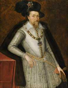 John De Critz The Elder - james vi Eu ( 1566–1625 )
