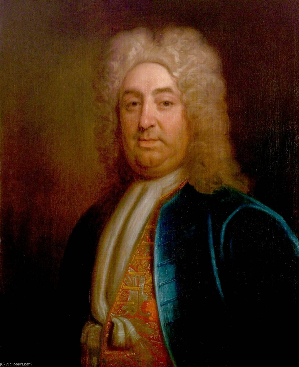 sir hugh clopton ( 1671–1751 ), óleo sobre tela por Thomas Murray