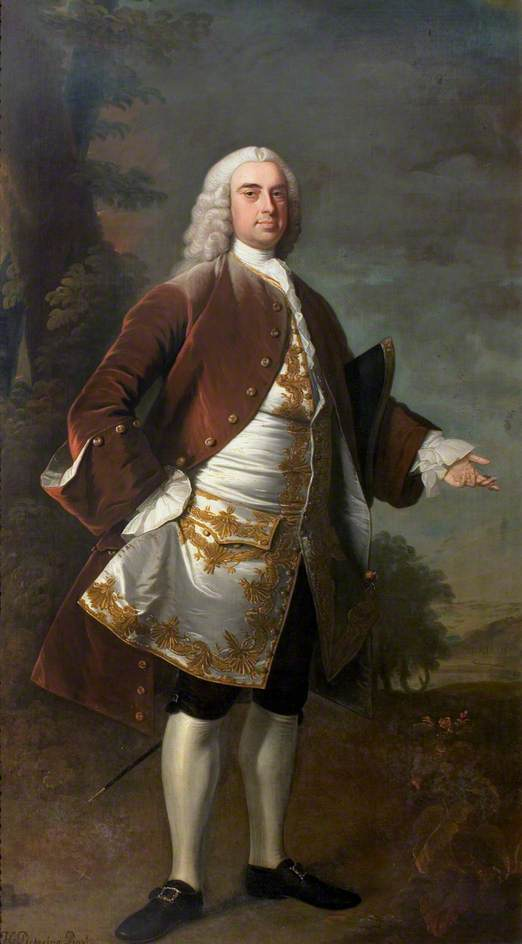 sir wolstan dixie ( 1700–1767 ) , 4th Bt , market bosworth, 1741 por Henry Pickering | Copy Pintura | WahooArt.com