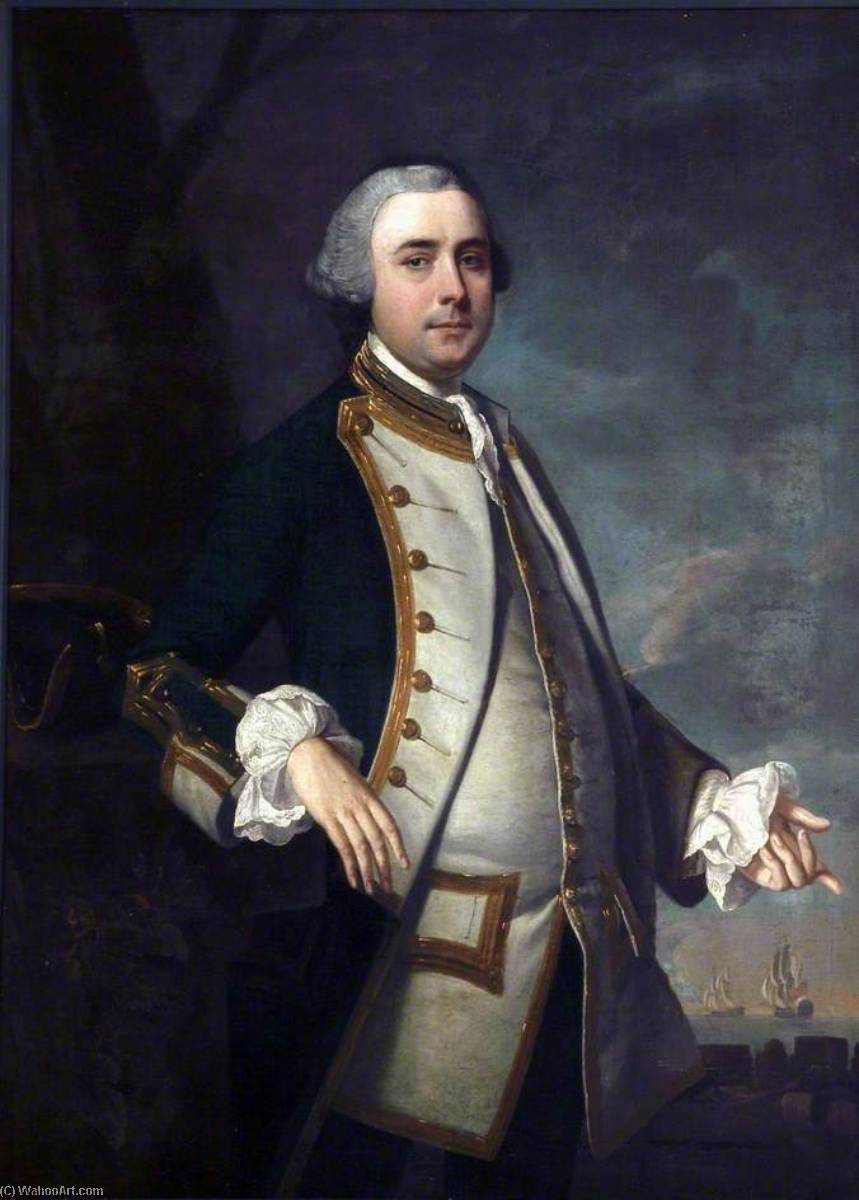 thomas johnson ( d . 1771 ), óleo sobre tela por Henry Pickering