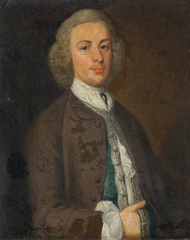 sir jacob downing ( d . 1764 ) , 4th Bt por Henry Pickering | WahooArt.com