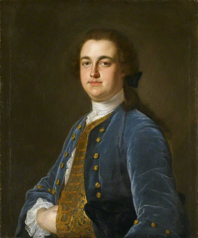 possivelmente, sir thomas hesketh ( 1727–1778 ) , 1st Bt , de rufford, óleo sobre tela por Henry Pickering