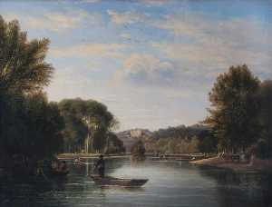 George Hilditch - Vista para Richmond Monte , Surrey