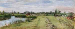 William Luker - Bloomer's Prado em lechlade
