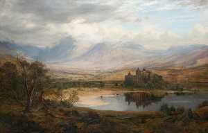 James Docharty - Kilchurn Castelo , Fiorde Temor