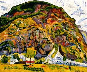 William Henry Johnson - Montanha Estrada , Sunnmore , Noruega
