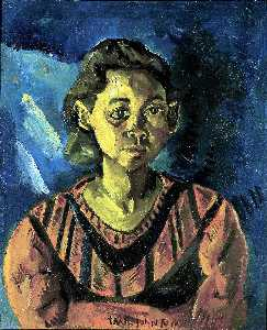 William Henry Johnson - menina