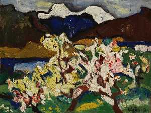 William Henry Johnson - neve picos  e  flores