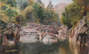 Frederick William Hayes - o Miners' Ponte , bettws y coed