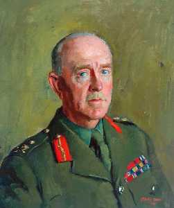 Henry Marvell Carr - Geral sir harold franklyn , KCB , DSO , MC , Coronel do Regimento ( 1939–1949 )