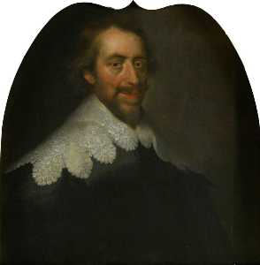George Jamesone - william graham ( 1589–1661 ) , 7th Conde de menteith e 1st Conde de airth , Presidente da o Latrina Conselho