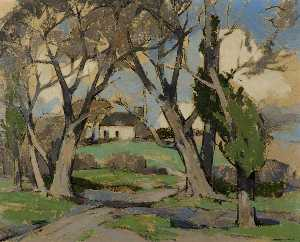 John Guthrie Spence Smith - Primavera em anworth