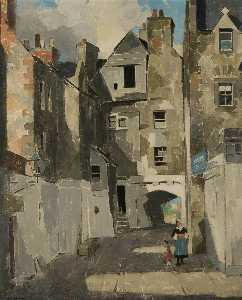 John Guthrie Spence Smith - Huntly Casa , Canongate