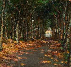 Alice Pike Barney - Allee no campo