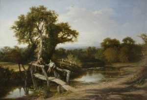 Frederick Henry Henshaw - Worcestershire Paisagens Outono