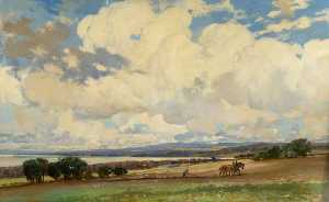 Charles Gustav Louis Phillips - Invergowrie Baía , Dundee