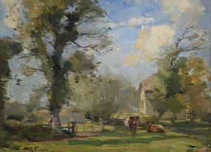 William Miller Frazer - Wareham Moinho , Dorset