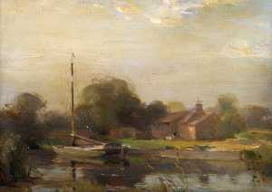 William Miller Frazer - o norfolk Broads