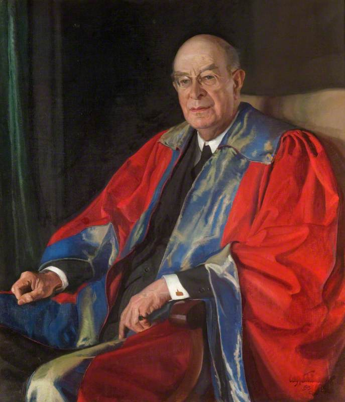 professor william stevenson ( 1869–1954 ) , Professor do hebraico e Semítico Línguas no Universidade de Glasgow, 1938 por William Oliphant Hutchison | Copy Pintura | WahooArt.com