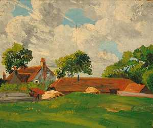 Eric Trayler Cook - Oito Acres , Ancton , Oeste Sussex
