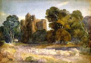 David Cox The Elder - Castelo de Kenilworth