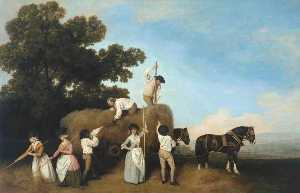 George Stubbs - Haymakers