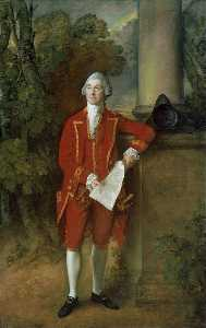 Thomas Gainsborough - João eld of seighford Corredor , Stafford