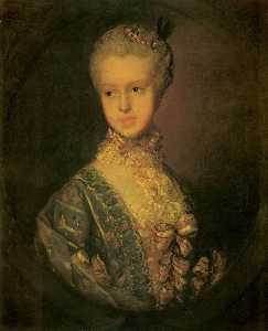 Thomas Gainsborough - Isabel Wrottesly