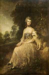 Thomas Gainsborough - Senhora . Maria Robinson ( Perdita )