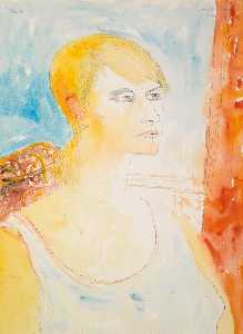 John Bellany - Retrato de Julie